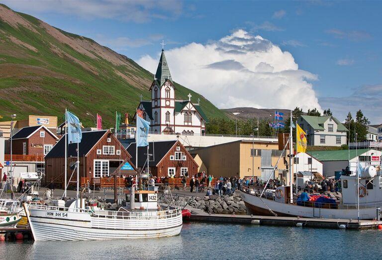 Islandský pozdrav, poznávací zájazd