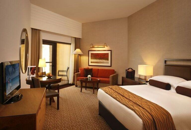 Dvojlôžková izba v hoteli Amwaj Rotana Jumeirah Beach Residence