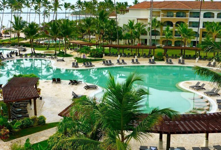 Bazén hotela Now Larimar Punta Cana