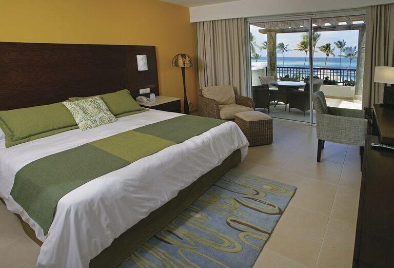 Izba s výhľadom na more v hoteli Now Larimar Punta Cana