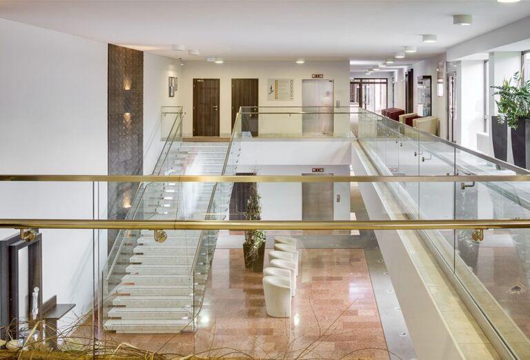 Interiér kúpeľného hotela Spa Hotel Grand
