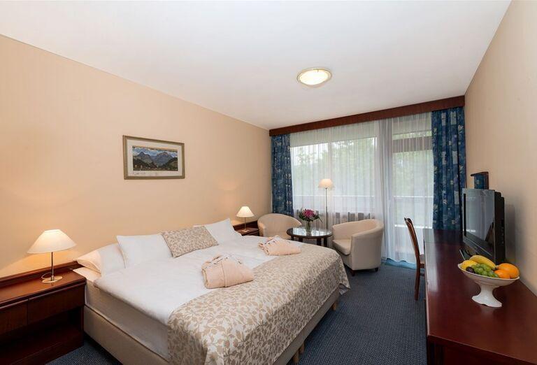 Izba komfort v hoteli Danubius Health Spa Resort Esplanade