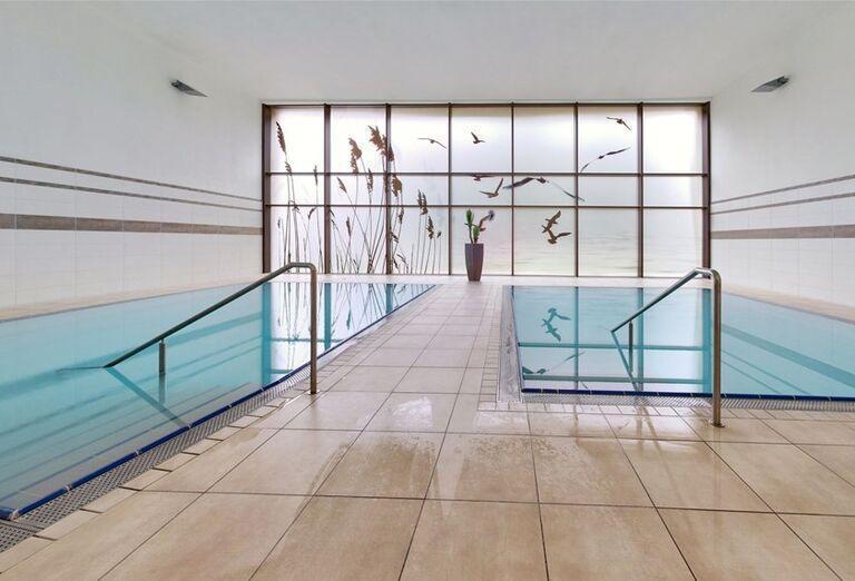 Menšie bazény v hoteli Danubius Health Spa Resort Esplanade