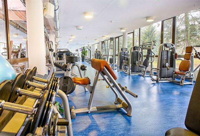 Fitnes v hoteli Danubius Health Spa Resort Esplanade