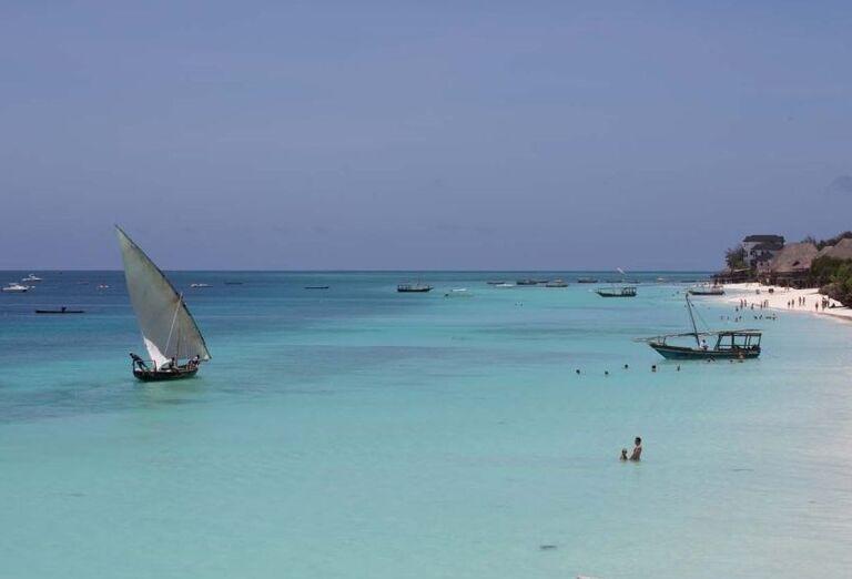Pláž pri hoteli Royal Zanzibar