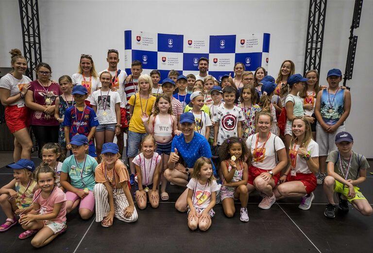 Denný tábor Slovenského olympijského tímu