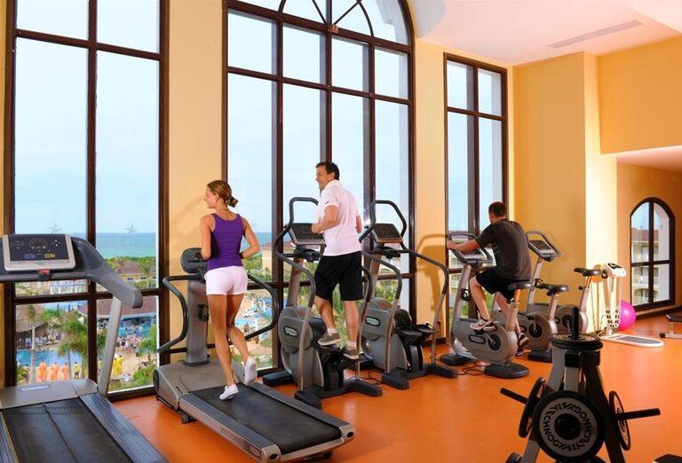 Fitness v hoteli Iberostar Laguna Azul