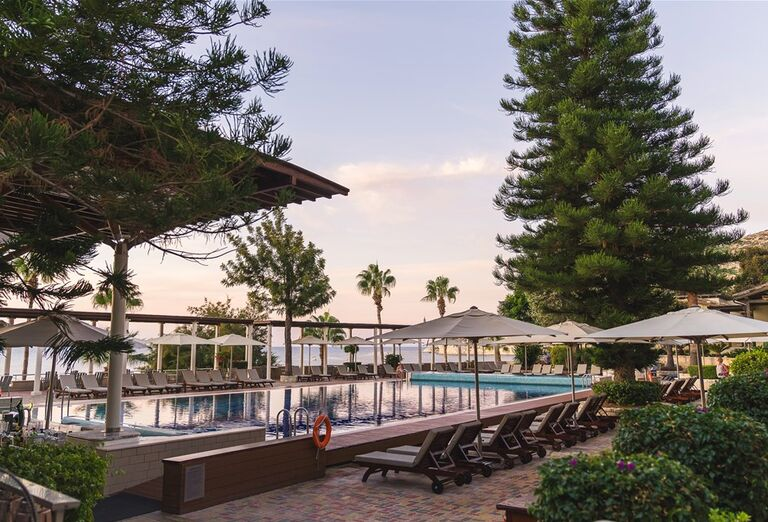 Vodný svet Hotel Columbia Beach Resort *****