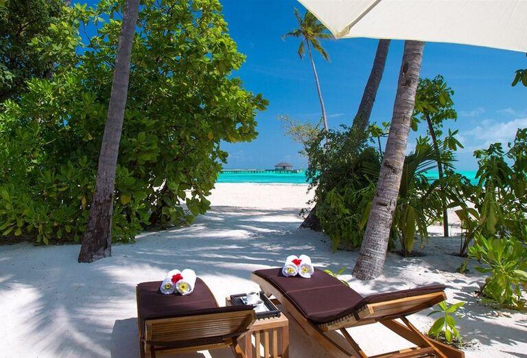 Relax na pláži - Hotelový Resort Hotel Atmosphere Kanifushi Maldives