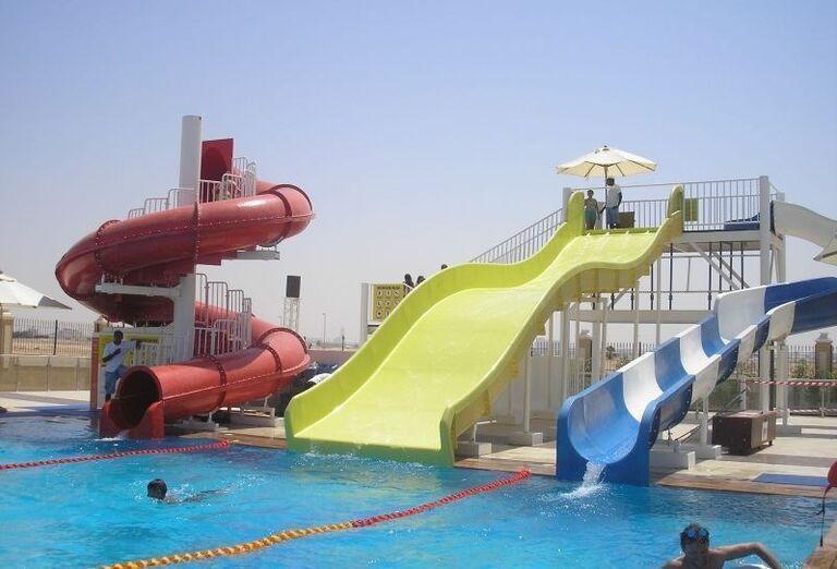 Tobogány v hoteli Rixos Bab Al Bahr
