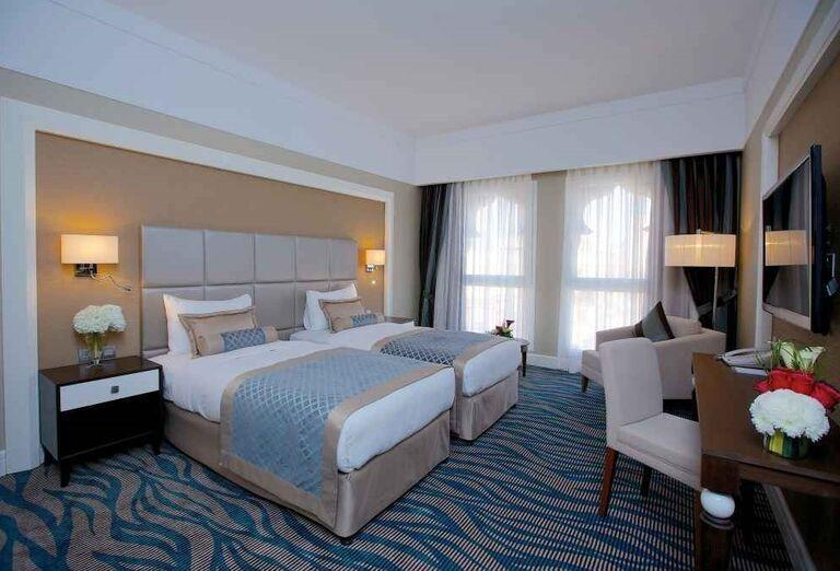 Priestranná izba v hoteli Rixos Bab Al Bahr