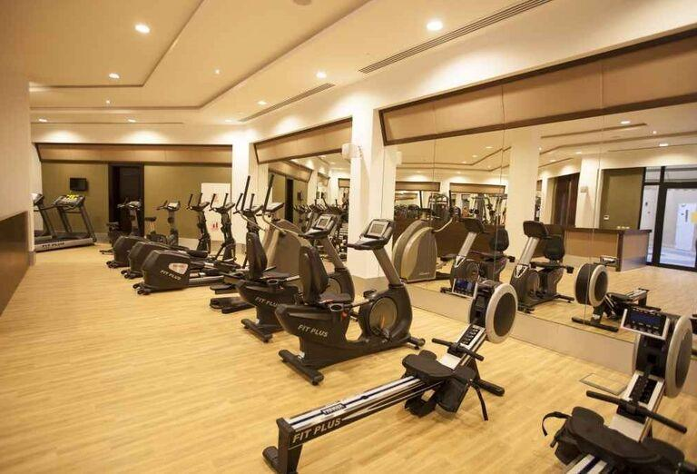 Fitness v hoteli Rixos Bab Al Bahr