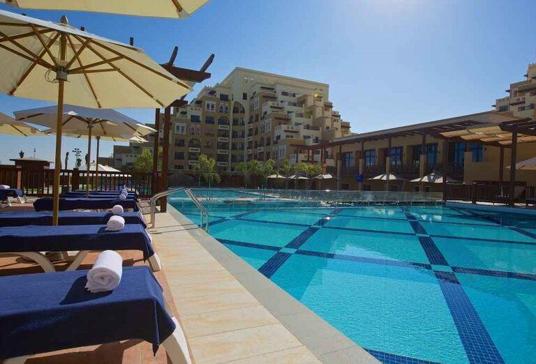 Bazén hotela Rixos Bab Al Bahr