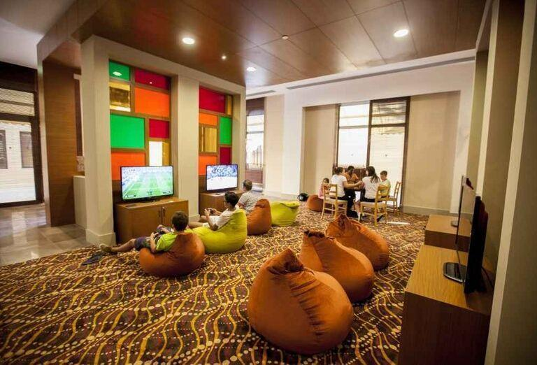 Herňa hotela Rixos Bab Al Bahr