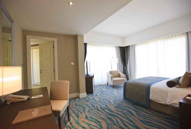 Izba v hoteli Rixos Bab Al Bahr