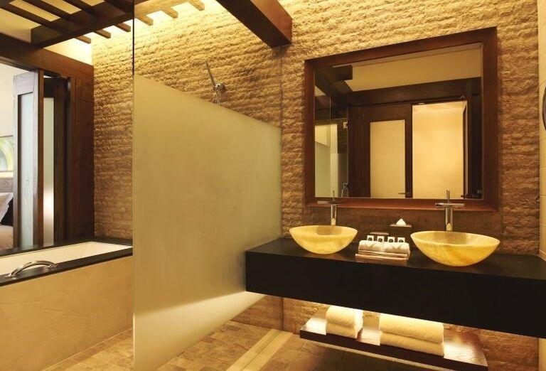 Kúpeľňa v hoteli Sofitel Dubai The Palm Resort & Spa