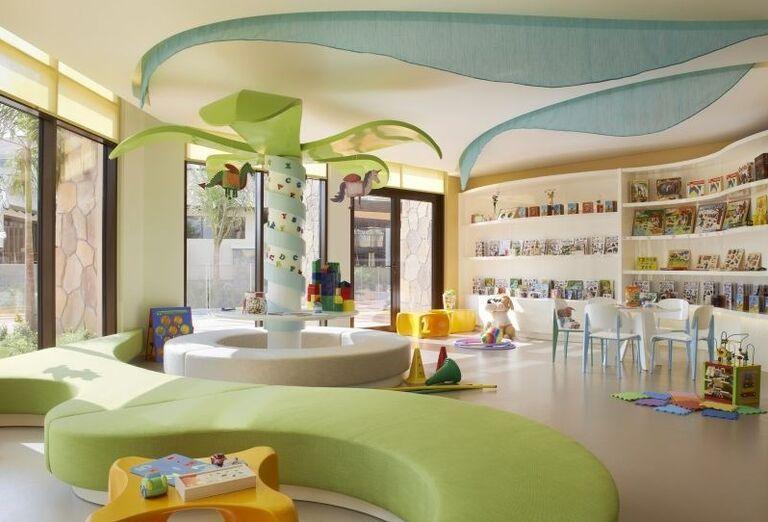 Detský kútik v hoteli Sofitel Dubai The Palm Resort & Spa