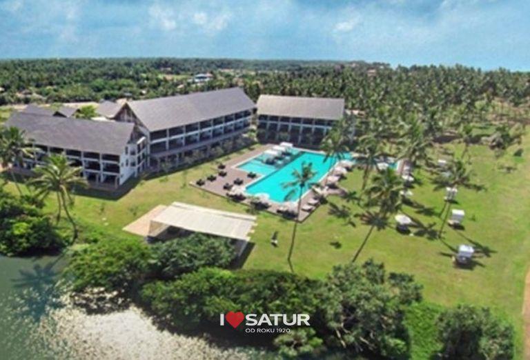 Areál hotela Suriya Luxury Resort