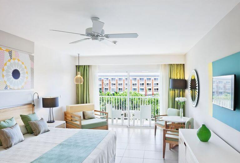 Izba s terasou v hoteli Ocean Vista Azul by H10