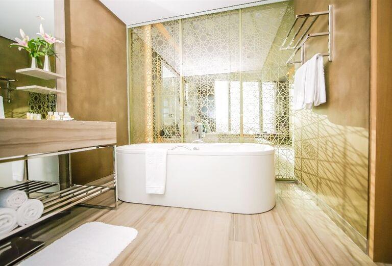 Kúpeľňa v hoteli Rixos Premium Dubai