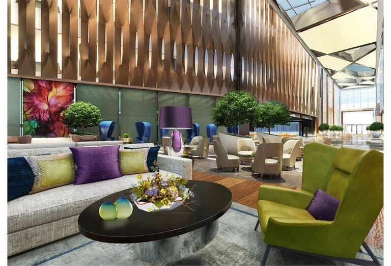 Interiérr hotela Rixos Premium Dubai