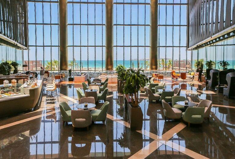 Chutné švédske stoly v hoteli Rixos Premium Dubai