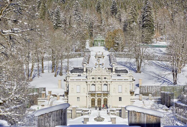 Advent na bavorských zámkoch, poznávací zájazd