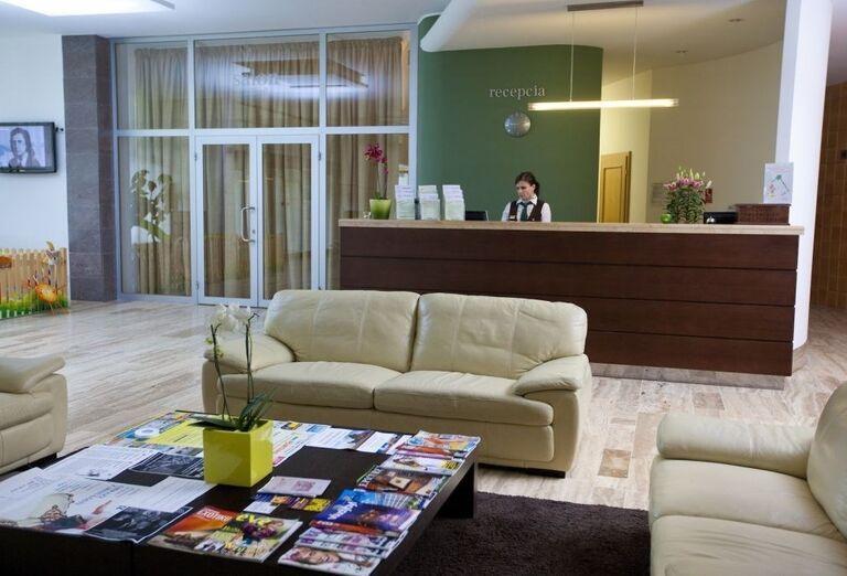 Recepcia, wellness hotel Park, Piešťany, Slovensko