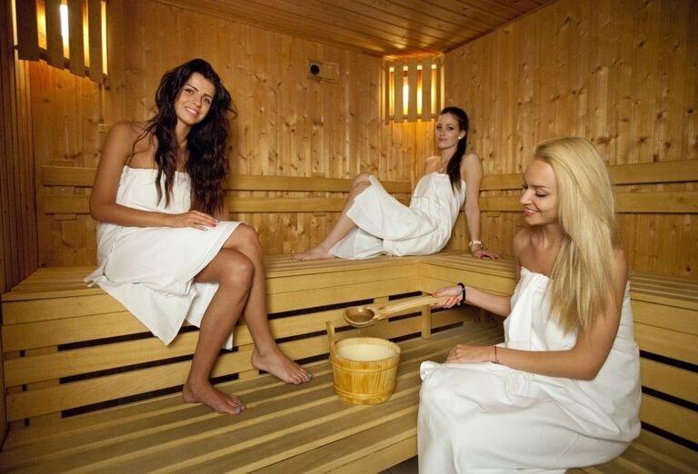 Suchá sauna, wellness hotel Park, Piešťany, Slovensko