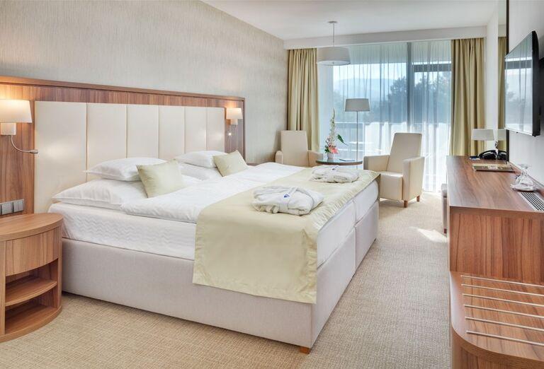 Izba v hoteli Danubius Health Spa Resort Esplanade