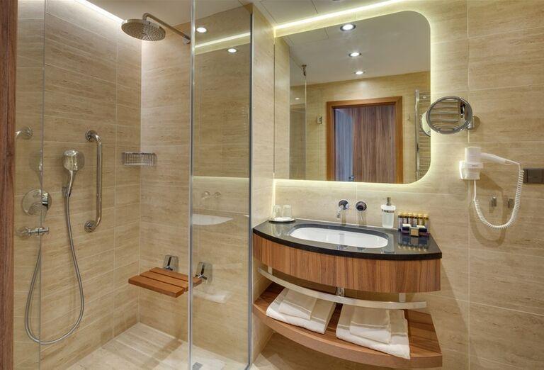 Kúpeľňa v hoteli Danubius Health Spa Resort Esplanade