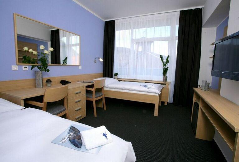 Izba v kúpeľnom hoteli Pax