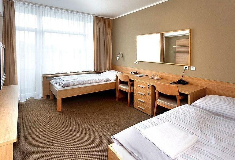 Ubytovanie v kúpeľnom hoteli Pax