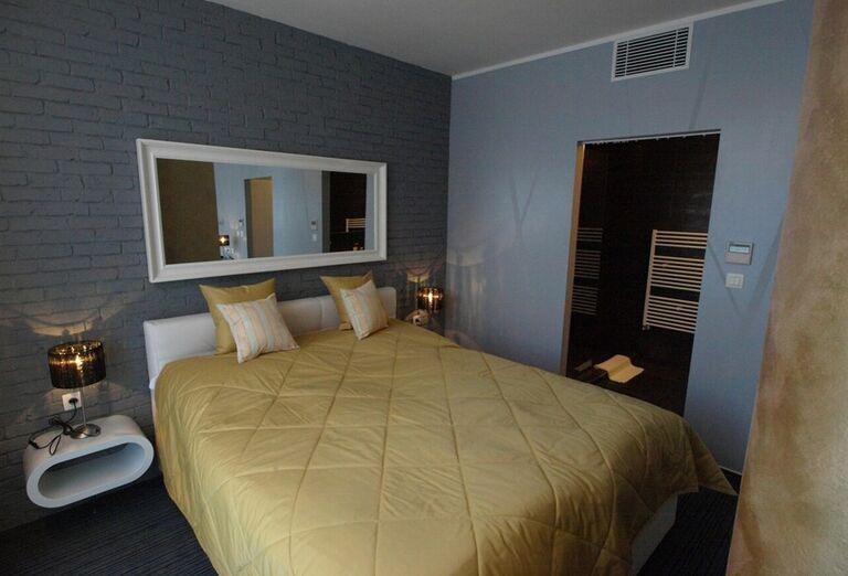 Komfortná izba v kúpeľnom hoteli Pax