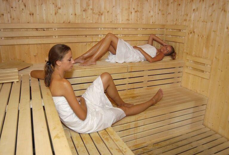 Sauna, Hotel Flóra, Trenčianske Teplice