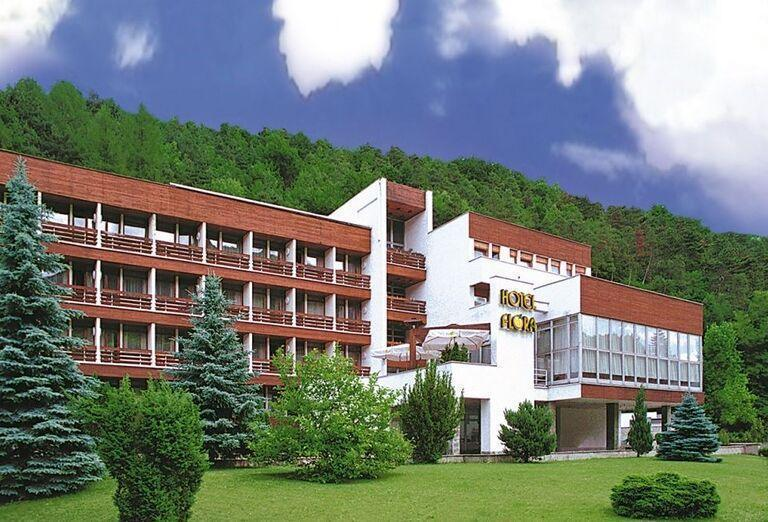 Exteriér, hotel Flóra, Trenčianske Teplice