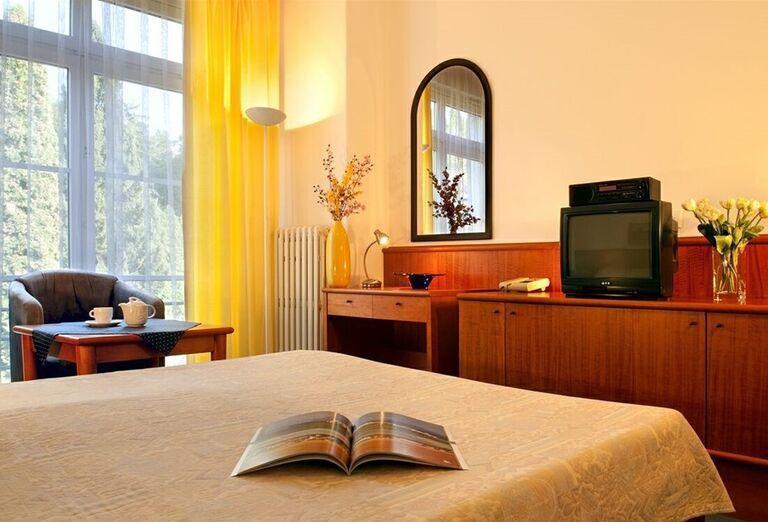 Ubytovanie v kúpeľnom hoteli Palace