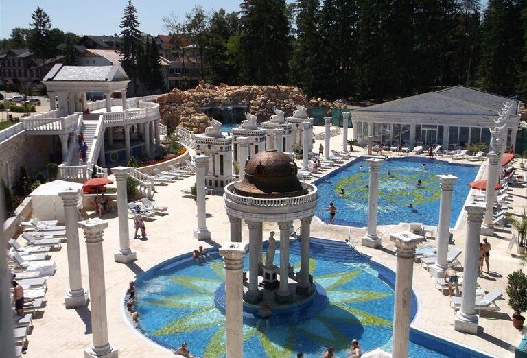 Vodný svet, Hotel Aphrodite Palace, Rajecké Teplice