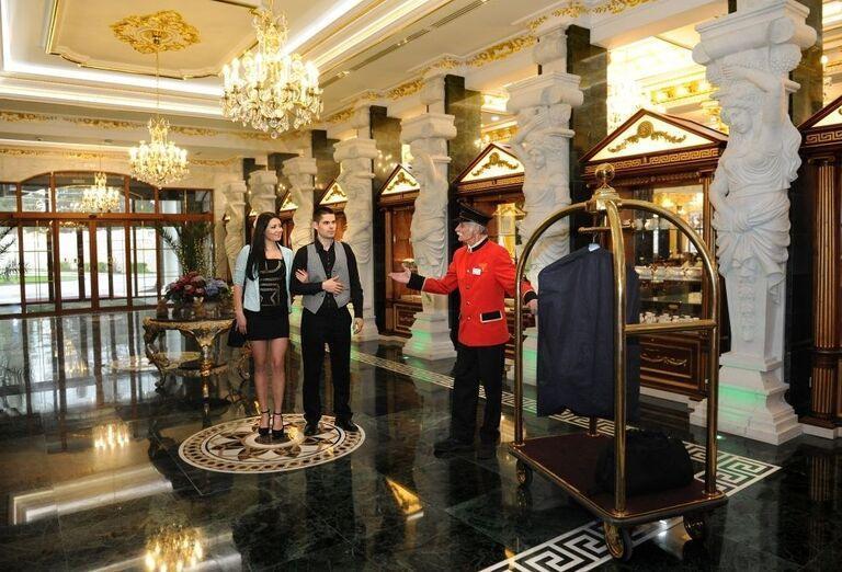 Hala, Hotel Aphrodite Palace, Rajecké Teplice
