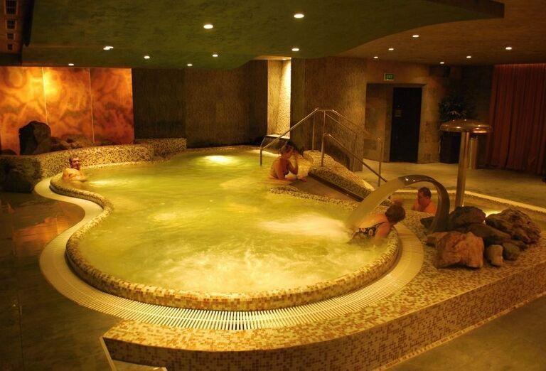 Whirlpool, Hotel Termál, Vyhne, Slovensko