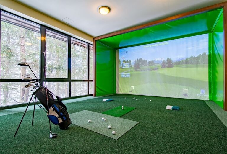 Hra golf pre deti vo wellness hoteli Borovica