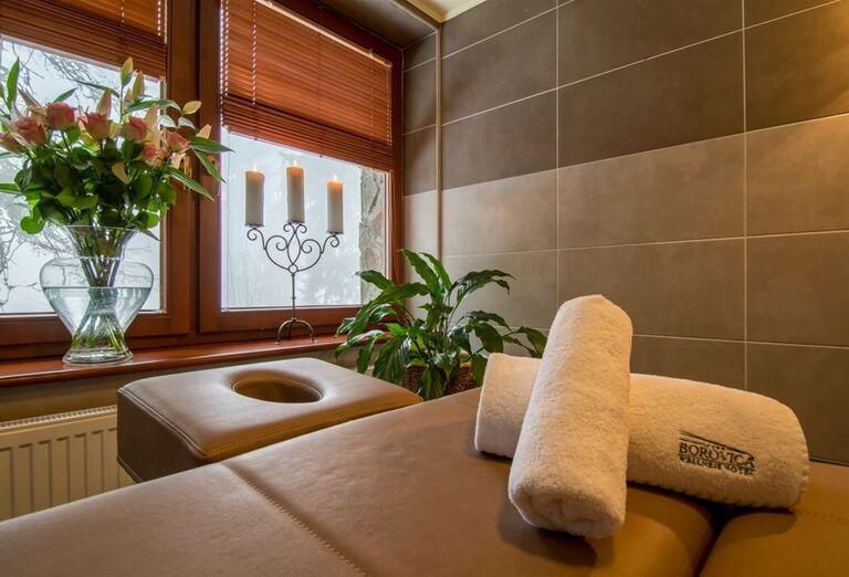 Wellness vo wellness hoteli Borovica