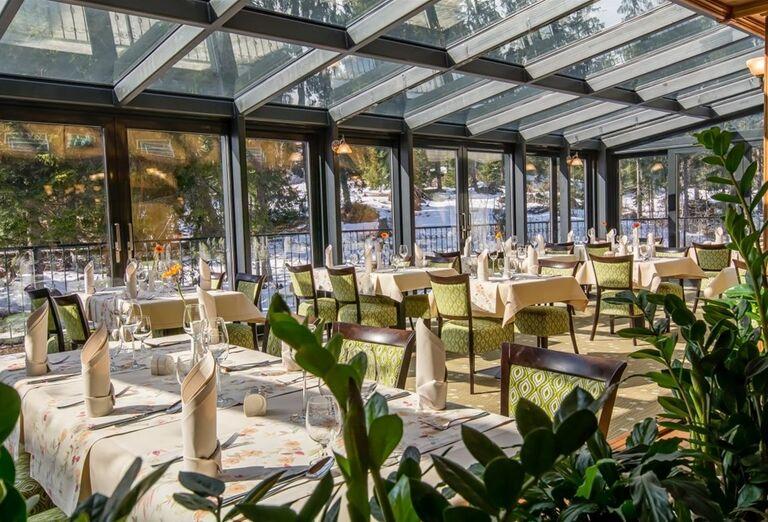 Reštaurácia vo wellness hoteli Borovica
