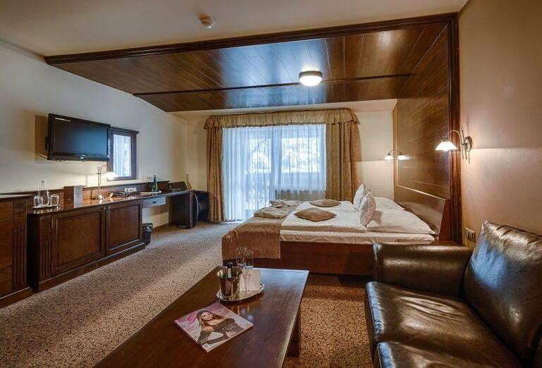 Izba vo wellness hoteli Borovica