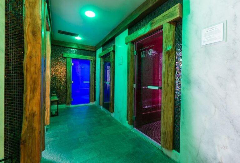 Sauny vo wellness hoteli Borovica