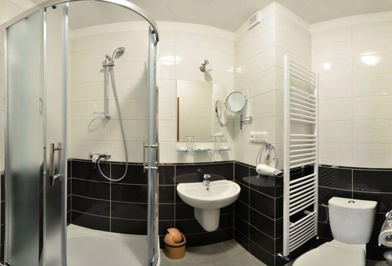 Kúpeľňa v kúpeľnom hoteli Choč