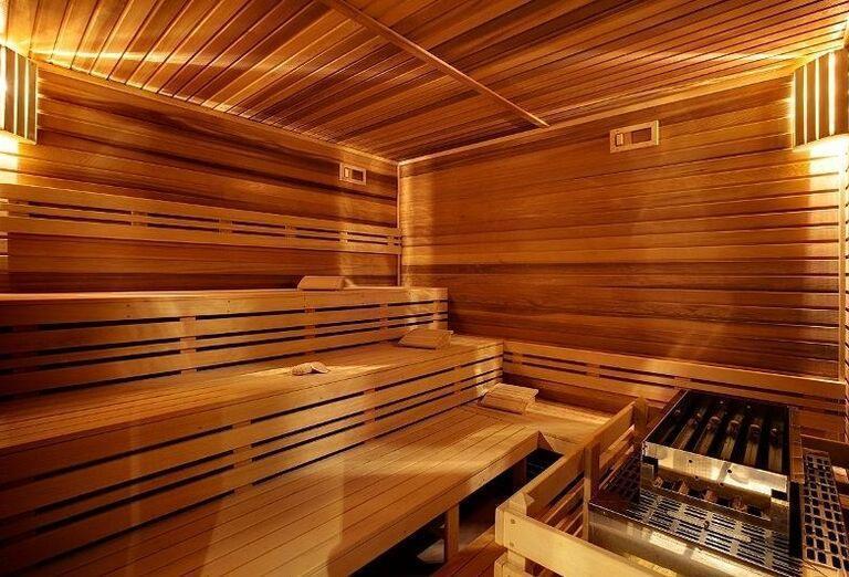 Sauna v kúpeľnom hoteli Minerál