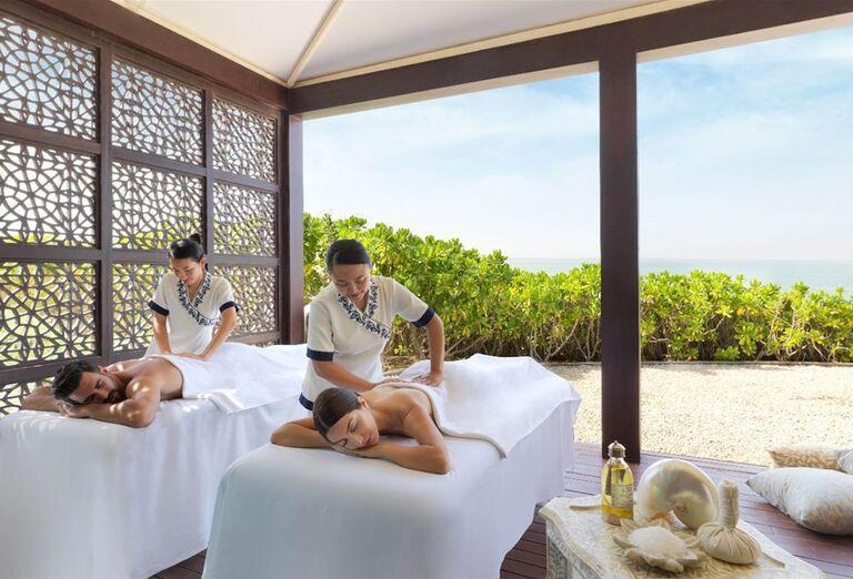 Vonkajšie masérske služby v hoteli Waldorf Astoria Dubai Palm Jumeirah