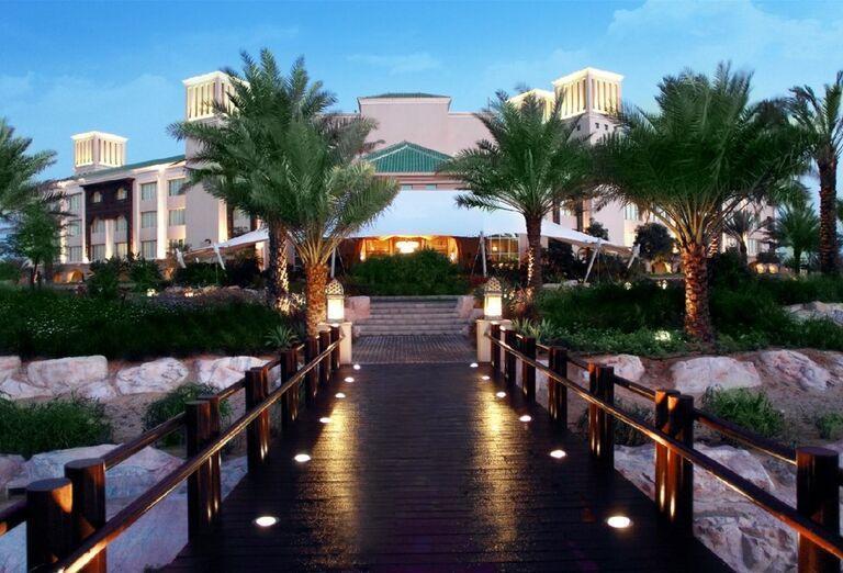 Vstup do hotela Waldorf Astoria Dubai Palm Jumeirah
