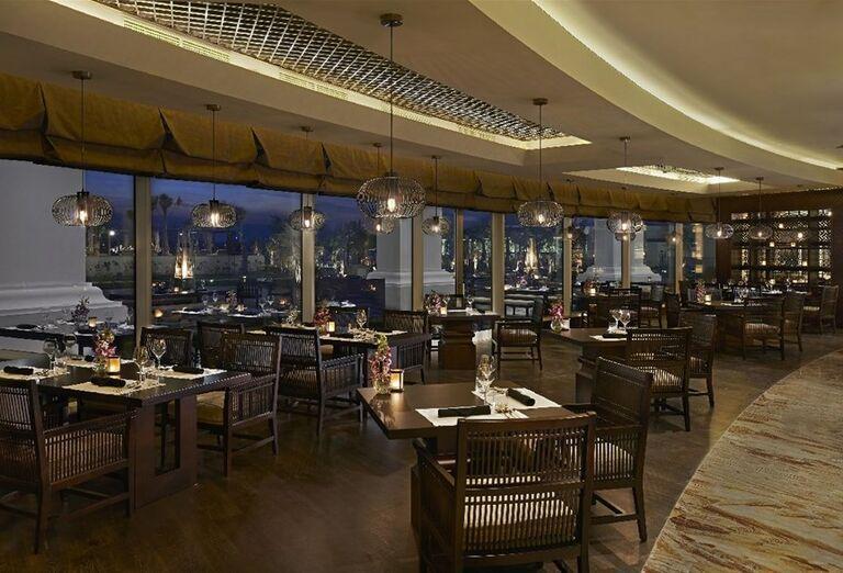 Reštaurácia v hoteli Waldorf Astoria Dubai Palm Jumeirah